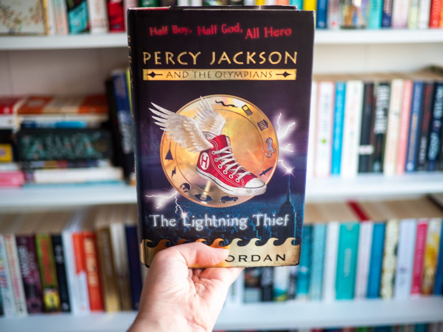 Percy Jackson and the Lightning Thief by Rick Riordan | Book Review